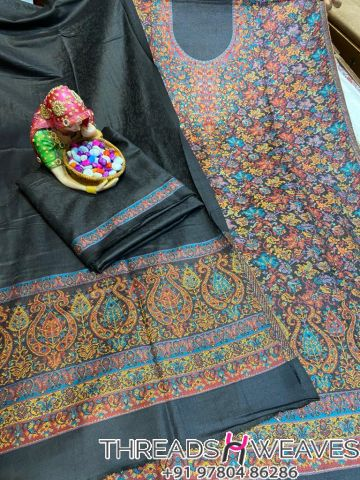 Black Pashmina suits with stall