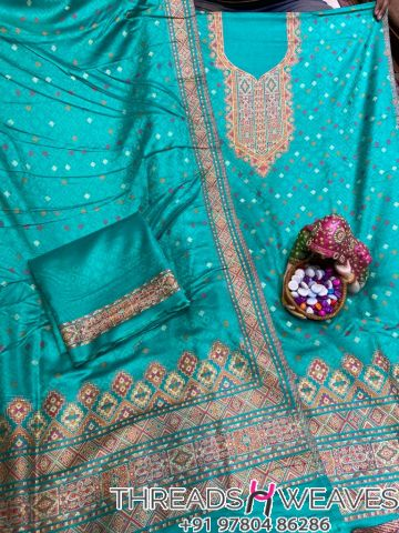 Pashmina suits with stall
