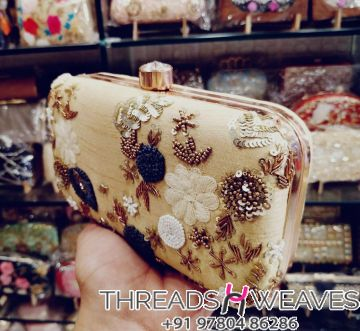 Trendy Beautiful Hand work clutches.