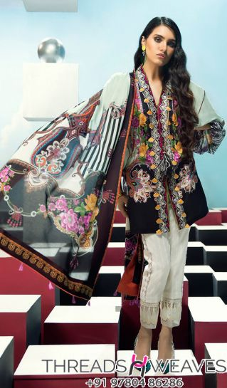 Elan Lawn Embroidery Suit